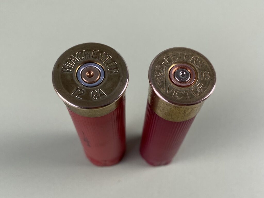 shotgun shells 12 gauge and 16 gauge