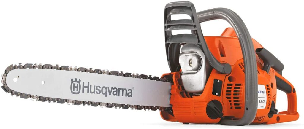 chainsaw for cutting fire wood