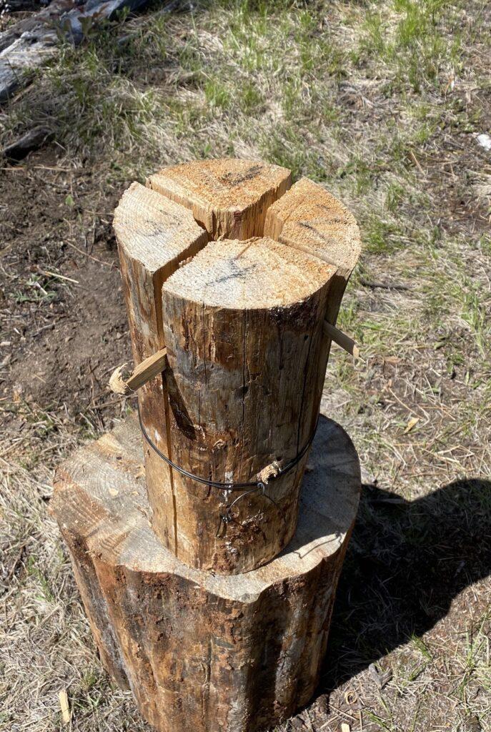 ready to burn swedish fire log