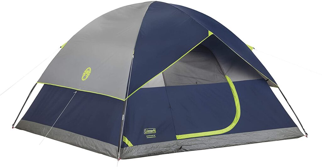 coleman sundome tent for family camping types of tents