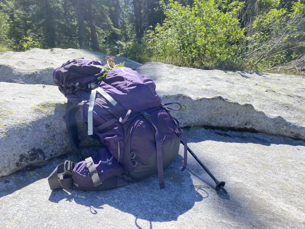 backpack for hiking and camping