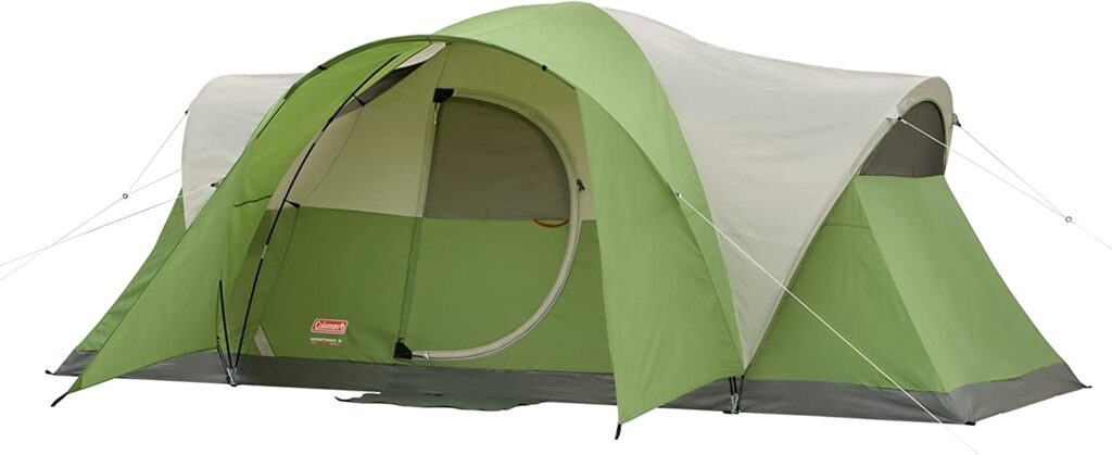 coleman family tent for camping