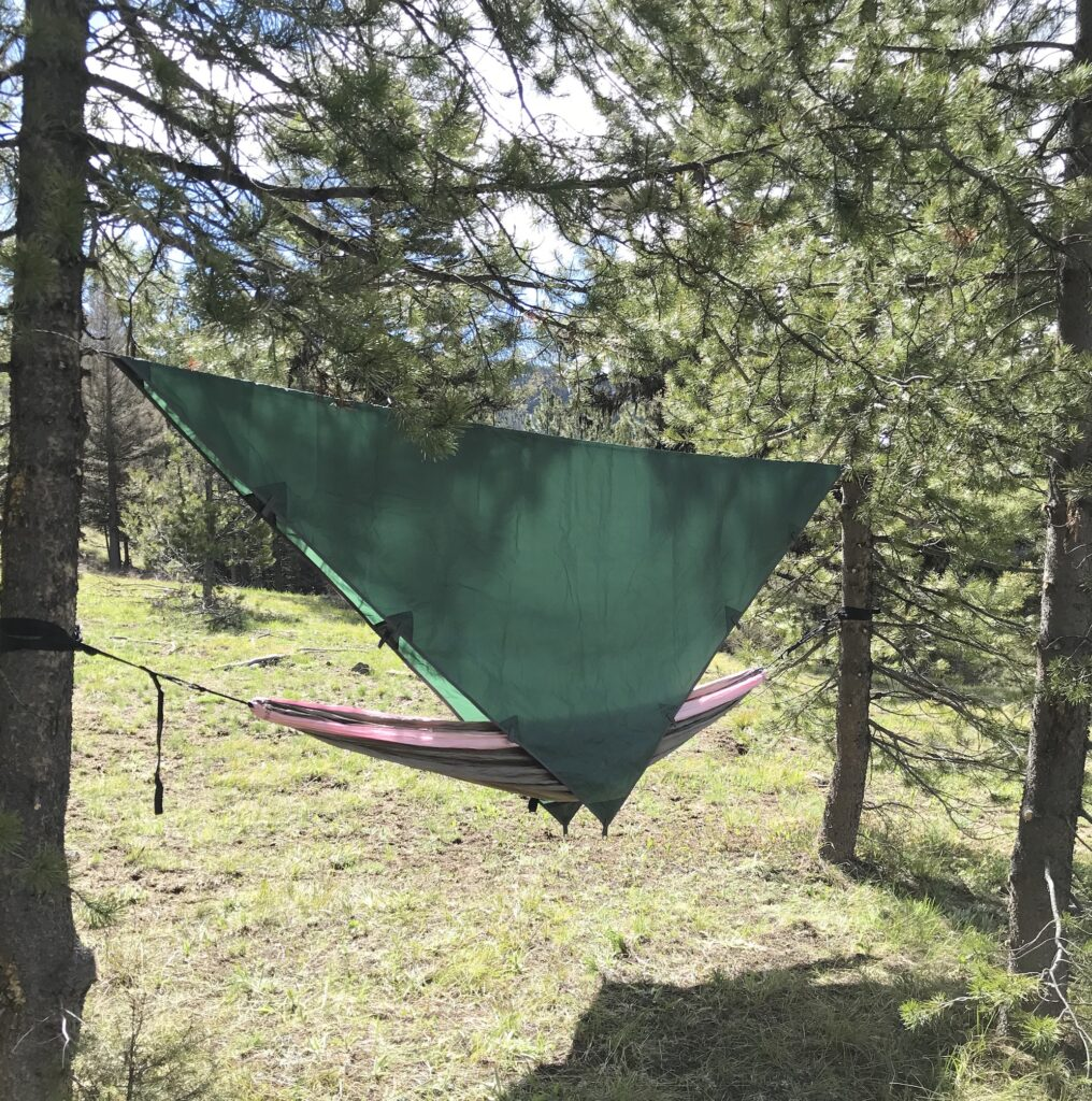survival camping without a tent