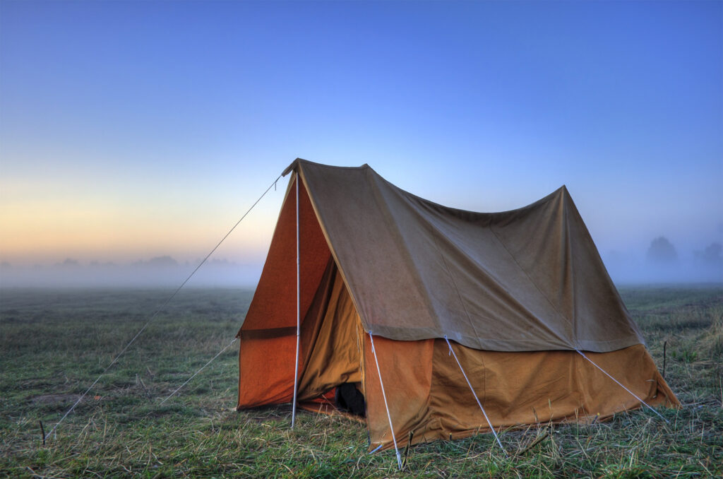 cabin style types of tents