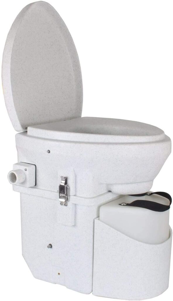 self contained composting toilet