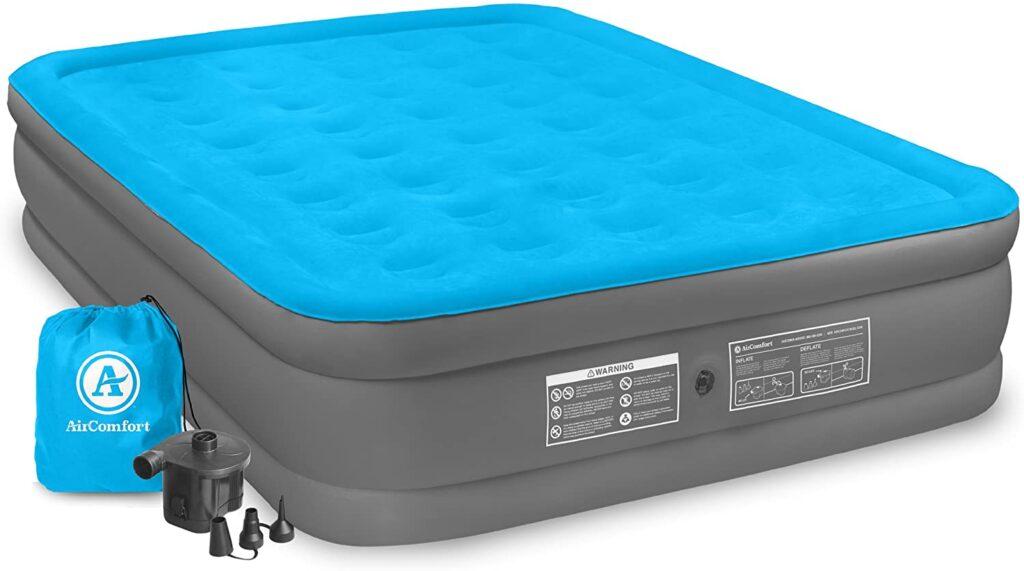 air comfort queen raised double mattress