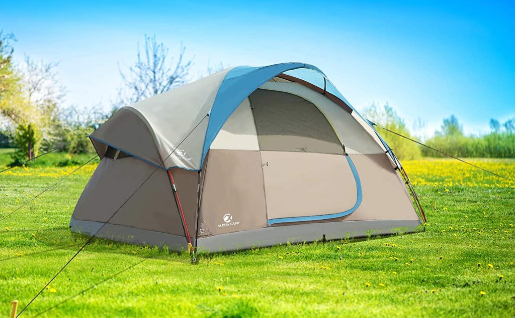 alpha camp 6 person camping tent