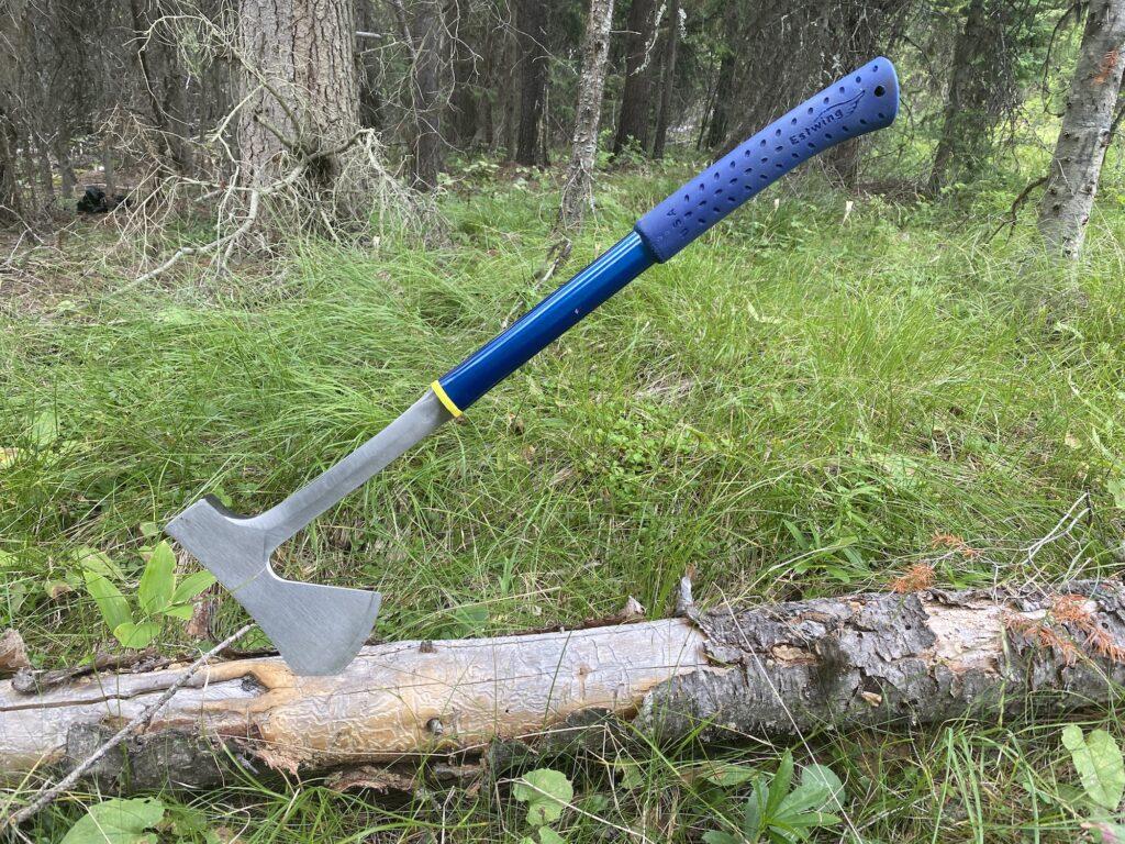 sturdy lightweight portable axe