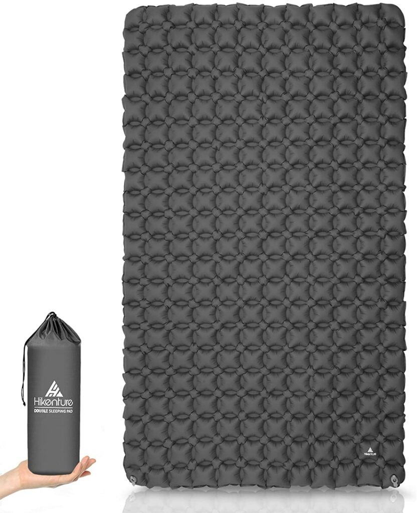 hikenture ultralight waterproof inflatable mattress