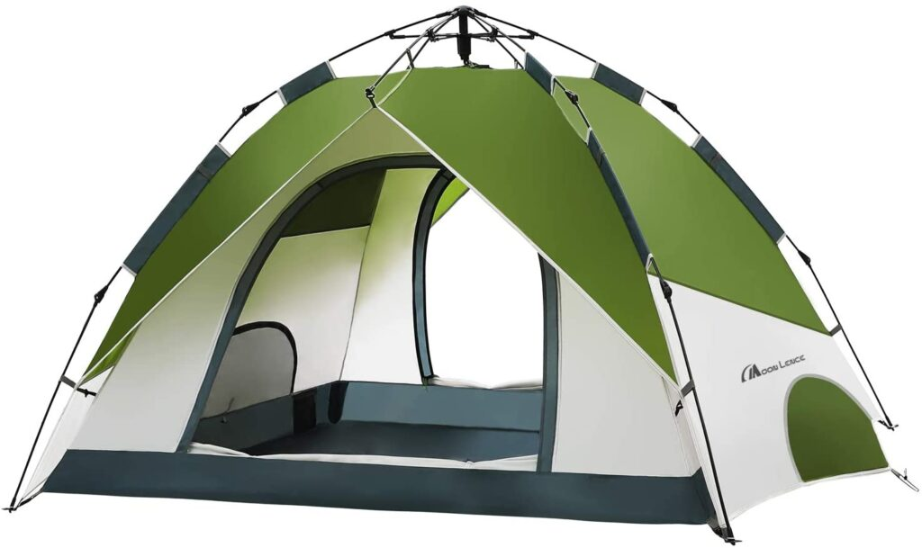 moon lence pop up family tent