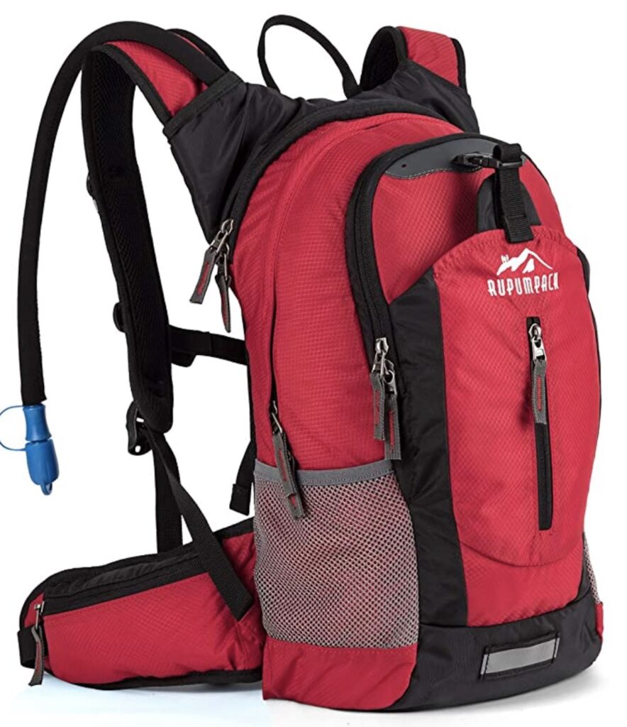 hydration day pack for backpacking
