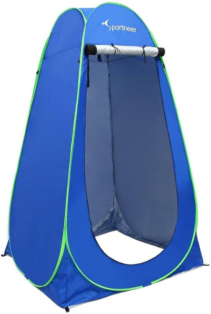 sportneer portable dressing tent