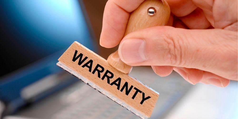 Warranty Sign